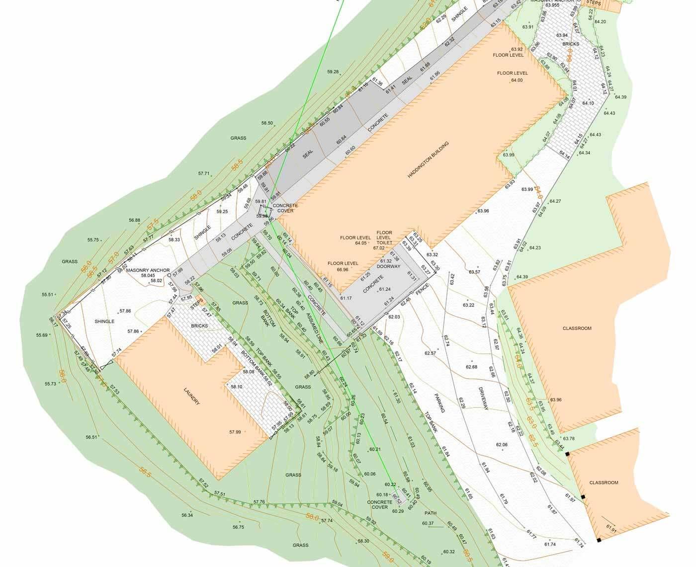 Site Survey Plans – Site Plan Survey